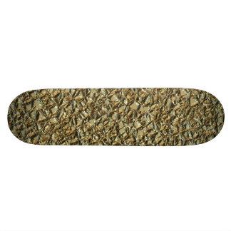 jagged stone golden 19.7 cm skateboard deck