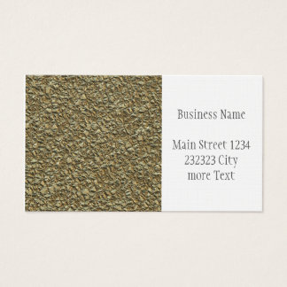 jagged stone golden business card