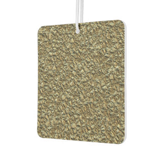 jagged stone golden car air freshener