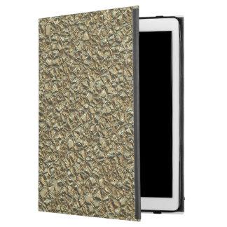 "jagged stone golden iPad pro 12.9"" case"