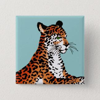 Jaguar 15 Cm Square Badge