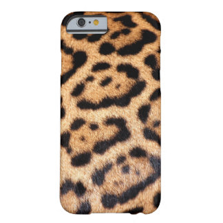 Jaguar Animal Pattern Faux Fur Barely There iPhone 6 Case