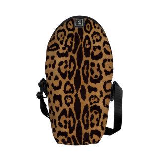Jaguar Animal Print Courier Bags