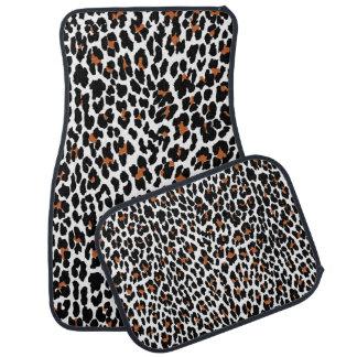Jaguar Animal Print Pattern Floor Mat