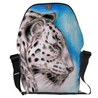 Jaguar Art Courier Bag