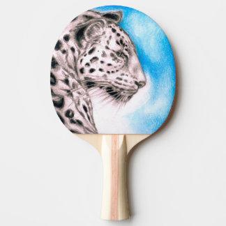 Jaguar Art Ping Pong Paddle