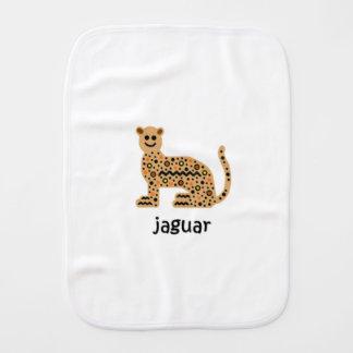 Jaguar Burp Cloth