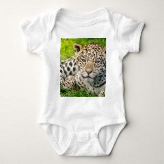 Jaguar cub baby bodysuit