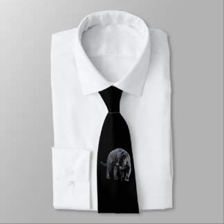 Jaguar Diablo business tie (2-sided)