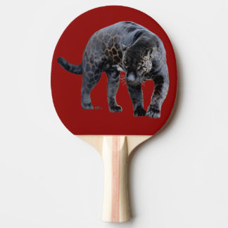 Jaguar Diablo red ping pong paddle