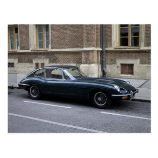 Jaguar E-Type Hardtop Postcard