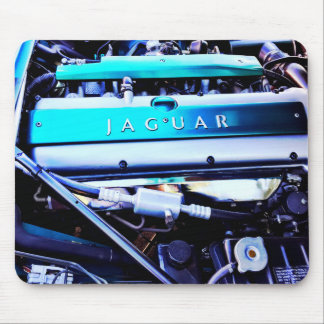Jaguar engine mouse pad