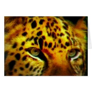 Jaguar Eyes Card
