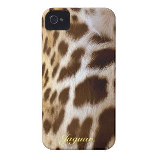 Jaguar Fur Big Cat Wildlife Animal-lover iPhone 4 Cases