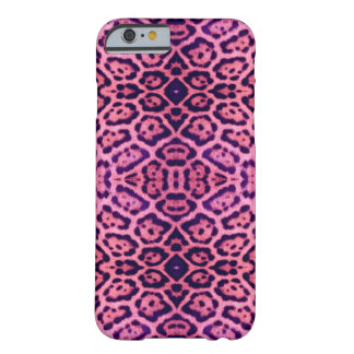 Jaguar Fur in Pink and Purple Barely There iPhone 6 Case