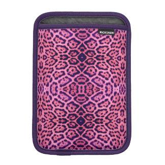 Jaguar Fur in Pink and Purple iPad Mini Sleeve