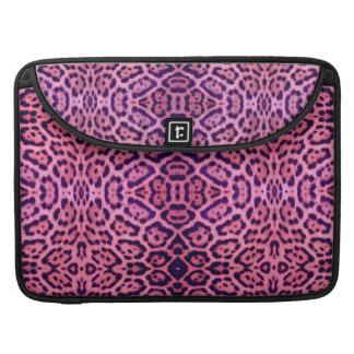 Jaguar Fur in Pink and Purple Sleeve For MacBook Pro