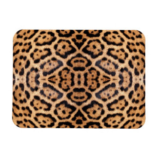 Jaguar Fur Photo Print Rectangular Photo Magnet