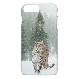 Jaguar in the Snow iPhone 8 Plus/7 Plus Case