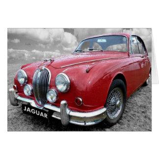 Jaguar Mark 2 Card