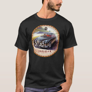 Jaguar Mark 2 cars sign T-Shirt