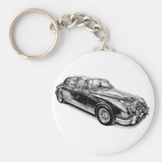 JAGUAR MK2 MOD KEY RING