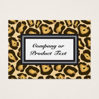 Jaguar Print 1/S Custom Business/product card