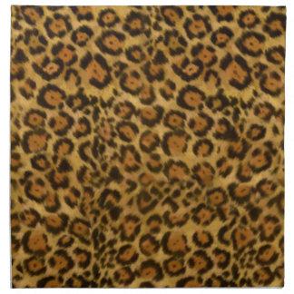 Jaguar Print, Jaguar Fur Pattern, Jaguar Spots Napkin