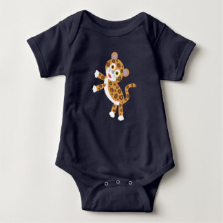 Jaguar - Rainforest Baby Baby Bodysuit