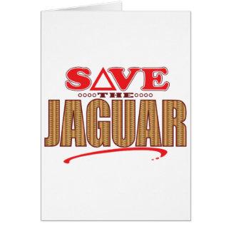 Jaguar Save Card