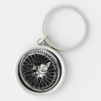 Jaguar Wheel Key Ring