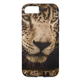 Jaguar Wild Animal Big Cat Face Eyes Photograph iPhone 8/7 Case