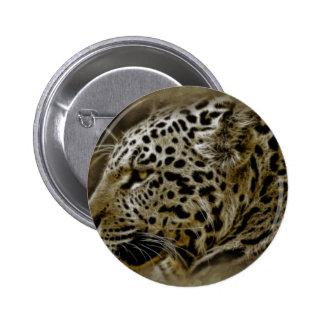 Jaguar Wild Cat Spots African Safari Destiny Buttons