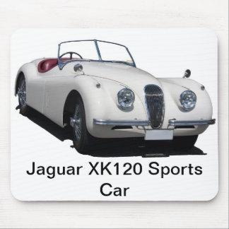Jaguar XK120 Sports Car Mouse Pad