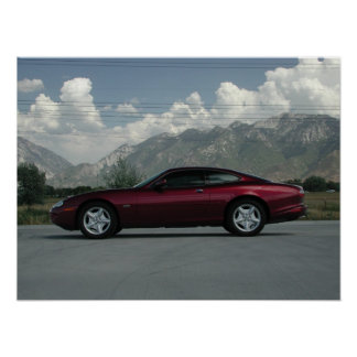 Jaguar XK8 Coupe Poster