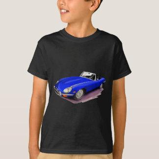 Jaguar XKE Blue Car Tee Shirts