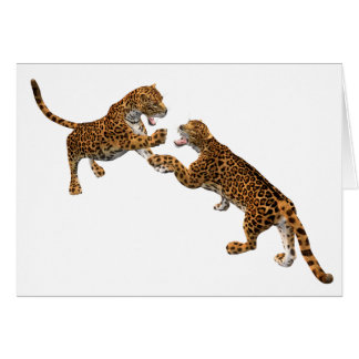 Jaguar's Challenge Card