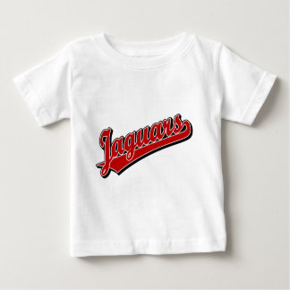 Jaguars in Red Baby T-Shirt