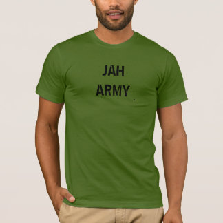 Jah Army Design T-Shirt