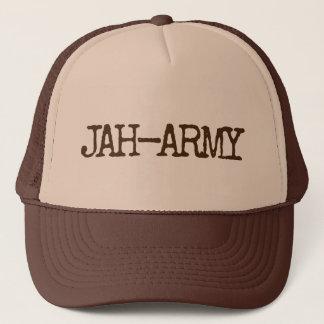 JAH ARMY TRUCKER HAT
