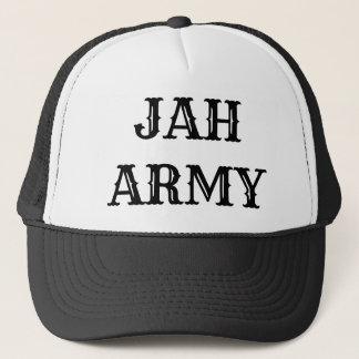 JAH ARMY TRUCKER HAT