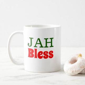 Jah Bless Rasta Lion Coffee Mug
