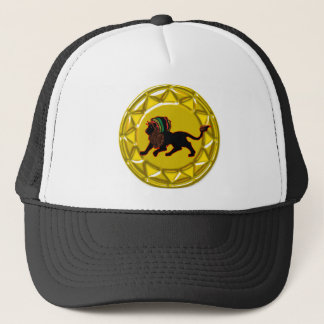 jah king jamaica trucker hat