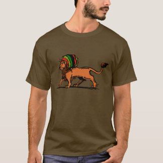 Jah King Rasta Lion T-Shirt
