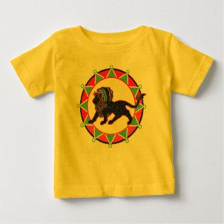 Jah King Rasta Lion Vintage Baby T-Shirt