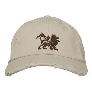 jah lion emboidered tuff hat