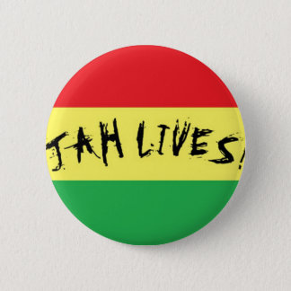 Jah Lives! 6 Cm Round Badge