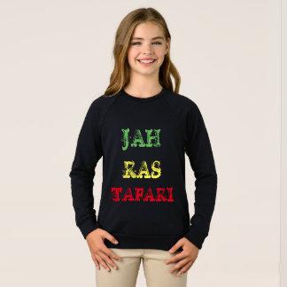 JAH RAS TAFARI kids long sleeve shirt