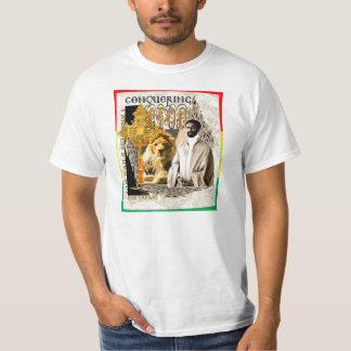 Jah Rastafari - Conquering Lion T-Shirt