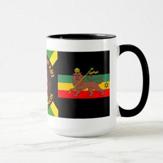Jah Rastafari - Lion Of Judah - Rasta - Coffee Mug